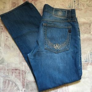 Rock & Republic Distressed Neil Jeans size 32x30